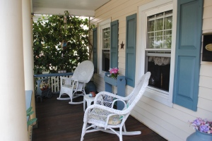 Rocking Chair Front Porch Colonial